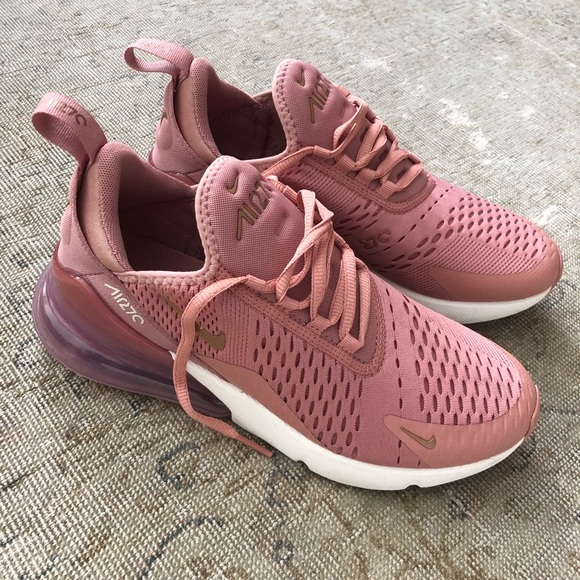 Nike Air Max 270 Womens Pink And Black Mens